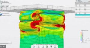 Conception - Logiciel Solidworks - Simulation de déformation d'un tube